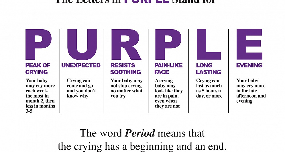 Period of PURPLE Crying Booklet